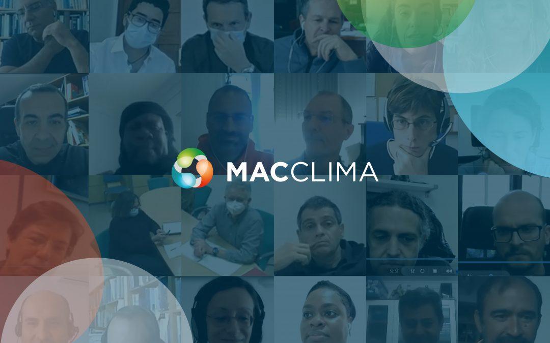 Avances globales del Proyecto MAC CLIMA